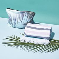 Samudra x Aloha Collection Tulum Mid-Size Wet-Dry Pouch