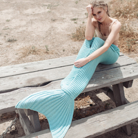 Mermaid Merklet blanket