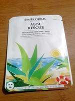 BioRepublic ALOE RESCUE Revitalizing Fiber Sheet Mask