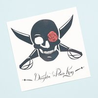 Daughter of the Pirate King Temporary Tattoo
