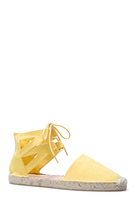 Jamina Yellow Shoe - Size 8