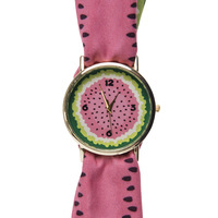 Watermelon Ribbon Watch