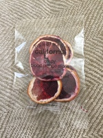 California Crispy Blood Orange Slices