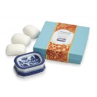 Mottahedeh Blue Canton Soap Dish Set