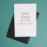 The Ordinary Greeting Card