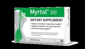 Myrtol 300 Dietary Supplement