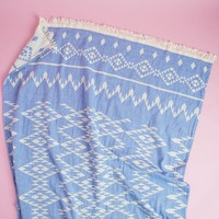 Ocean Tribe by Turkish-T Kilim Towel
