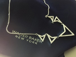 Walter Baker Triangle Necklace