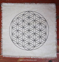 Mother goddess Altar/Crystal grid cloth