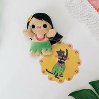 Hula Girl Catnip Toy