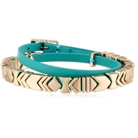 House of Harlow Wrap Bracelet Teal