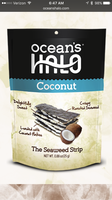 Ocean's Halo Coconut Seaweed Strip