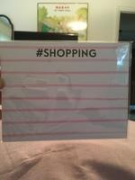 #Shopping Notepad