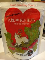 Queen of Hearts Pork and Beet Dog Treats