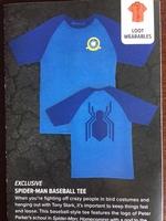 Spider-Man Baseball Tee