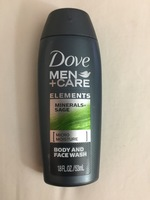 Dove Men+Care Elements Minerals+Sage Micro Moisture Body & Face wash