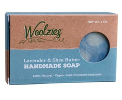 Woolzies Lavender & Shea Butter Handmade Soap