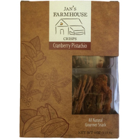 Jan's Farmhouse Crisps Cranberry Pistachio