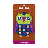Mudpuppy Owl Bag Tag
