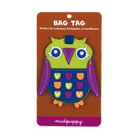 Mudpuppy Owl Bag Tag