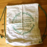 Lord of the Rings Drawstring Bag