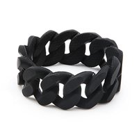 Chewbeads Stanton Teething Bracelet (black)
