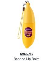 Tonymoly banana lip balm