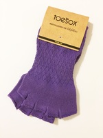 Toesox Purple Fitness Socks