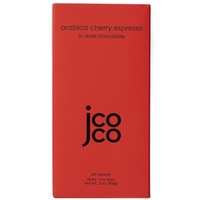 JCOCO Arabica Cherry Espresso 60% Dark Chocolate Bar