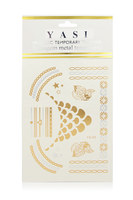 Yasi Metallic Temporary Tattoos