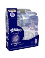 Kleenex Ultra Soft Go Anywhere Pack Facial Tissues