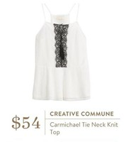 Creative Commune Carmichael top