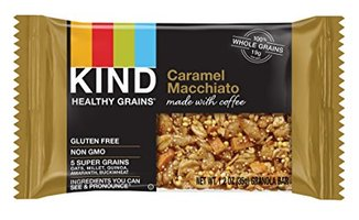 Caramel Macchiato kind healthy grains bar