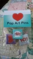 Pop Art Pins