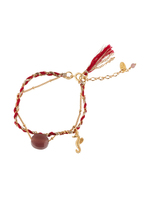 Les Nereides Seahorse Braided Bracelet