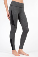MPG Alchemy Legging - Blk Herringbone