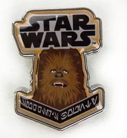 smuggler's bounty Chewbacca pin