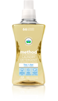 Method 4x Concentrated Free & Clear Laundry Detergent