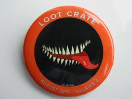 Loot Pin August 2015 Villains 2