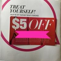 Macy's Beauty Box $5 off Beauty purchase