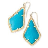 Kendra Scott Alexandra Earrings in Turquoise