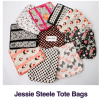 Jessie Steele tote bag