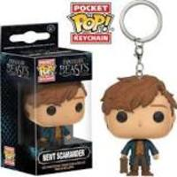 Newt Scamander Pocket Pop! keychain