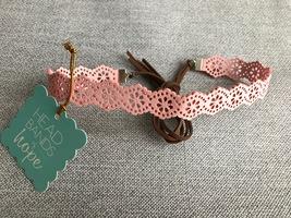 Pink Choker Headband - Headbands of Hope