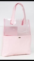 Ban.do Peekaboo Tote in Clear/Pink