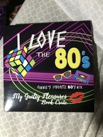 I Love the 80s mix Cd