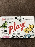 Play! By Sephora 50 beauty insider points card