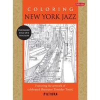 New York Jazz Coloring Book