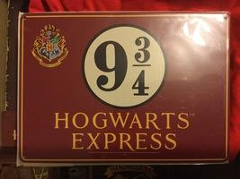 Harry Potter Platform 9 3/4 wall sign