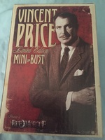 Vincent Price Mini Bust